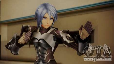 Kingdom Hearts Birth by Sleep - Armor Aqua for GTA San Andreas