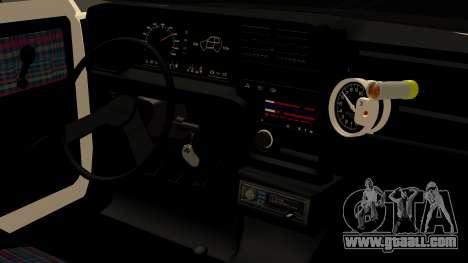 Fiat 147 Spazio-TR for GTA San Andreas right view
