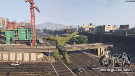 GTA 5 The Hulk