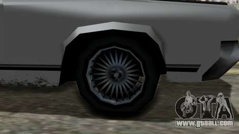 Sabre Turbo from Vice City Stories for GTA San Andreas right view