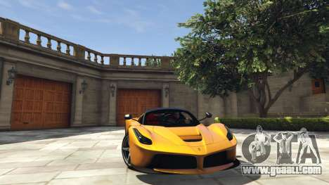 Ferrari LaFerrari 2013 v4.0 for GTA 5