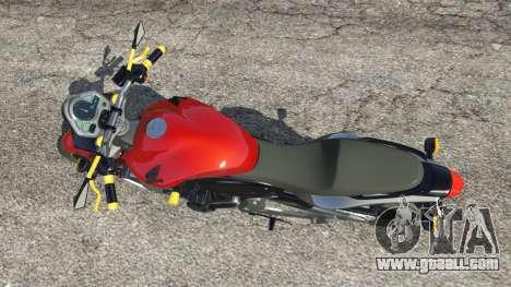 Honda CB 600F Hornet 2010 v0.5 for GTA 5