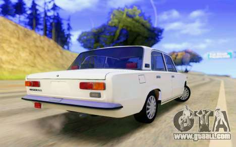 VAZ 2101 Stock for GTA San Andreas back left view