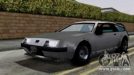 Deluxo from Vice City Stories for GTA San Andreas right view