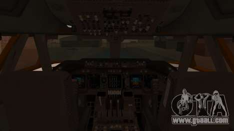 Boeing 747SR All Nippon Airways (NC) for GTA San Andreas inner view