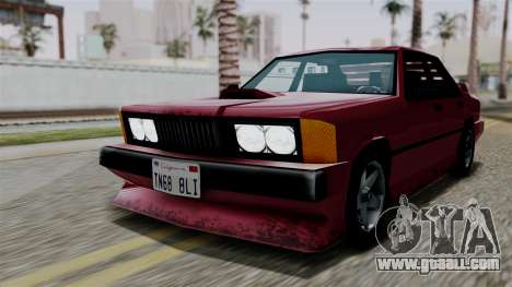 Sentinel XL from Vice City Stories for GTA San Andreas