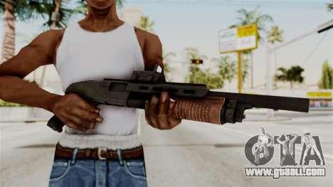 Shotgun from RE6 for GTA San Andreas third screenshot