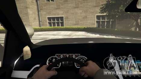 GTA 5 Chevrolet Suburban Sheriff 2015 back view
