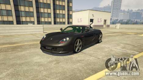 Porsche Carrera GT 1.2 for GTA 5