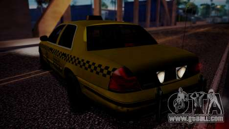 Raccoon City Taxi from Resident Evil ORC for GTA San Andreas left view