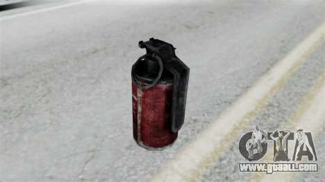 Molotov Cocktail from RE6 for GTA San Andreas third screenshot