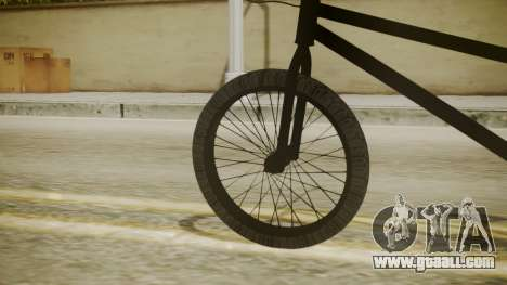BMX Poland for GTA San Andreas back left view