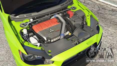 GTA 5 Mitsubishi Lancer Evolution X FQ-400 right side view