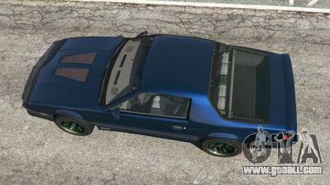 GTA 5 Chevrolet Camaro IROC-Z [Beta 2] back view