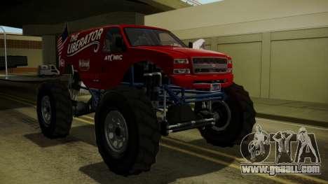 GTA 5 Vapid The Liberator IVF for GTA San Andreas