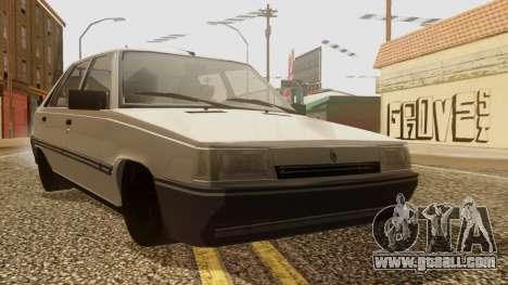 Renault 11 Perfil Bajo for GTA San Andreas