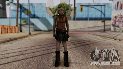 Resident Evil 4 Ultimate HD - Ashley Graham for GTA San Andreas second screenshot