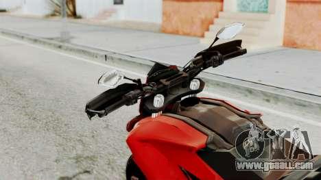 Ducati Hypermotard for GTA San Andreas back view