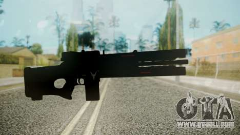 VXA-RG105 Railgun without Stripes for GTA San Andreas