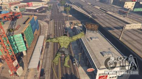The Hulk for GTA 5