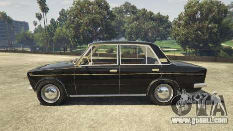 GTA 5 VAZ 2103 left side view