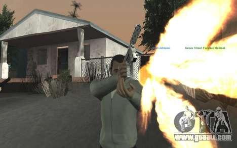 GTA 5 Tec-9 for GTA San Andreas ninth screenshot