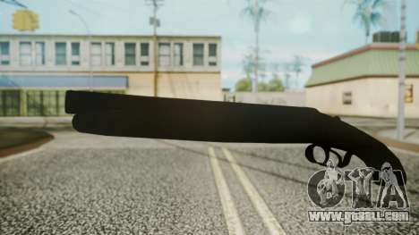 Sawnoff Shotgun (Iron Version) for GTA San Andreas second screenshot
