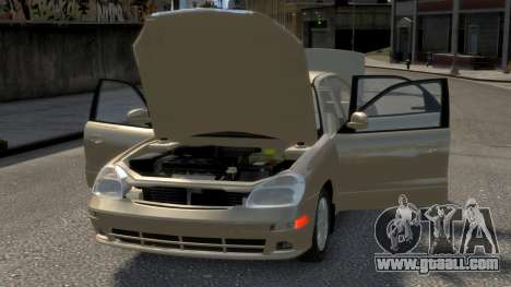 Daewoo Nubira II Sedan SX USA 2000 for GTA 4 engine