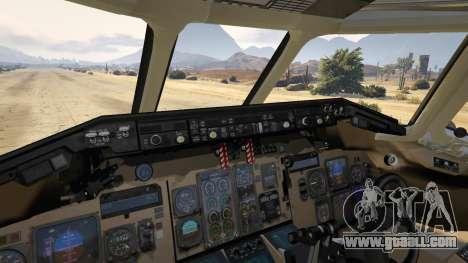 GTA 5 McDonnell Douglas MD-80 seventh screenshot