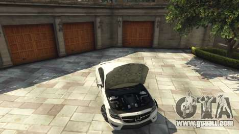 GTA 5 Mercedes-Benz CLS 6.3 AMG [BETA] rear right side view