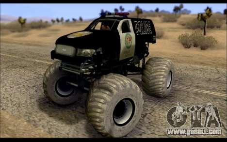 The Police Monster Trucks for GTA San Andreas