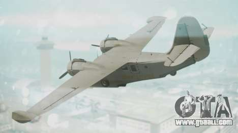 Grumman G-21 Goose Grey for GTA San Andreas left view