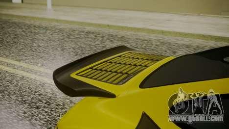 RUF CTR Yellowbird 1987 for GTA San Andreas back view