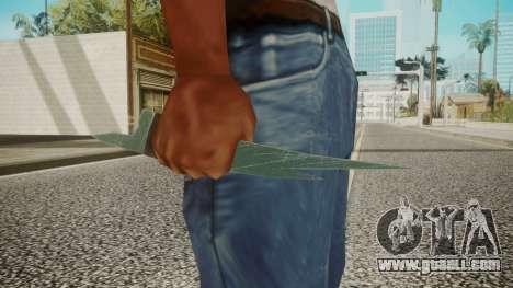 Glass Shard for GTA San Andreas third screenshot