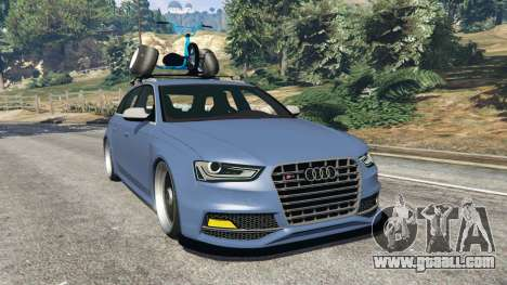 Audi RS4 Avant 2014 for GTA 5
