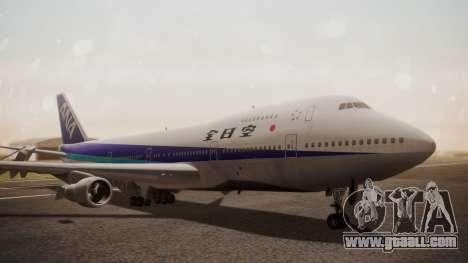 Boeing 747SR All Nippon Airways (NC) for GTA San Andreas