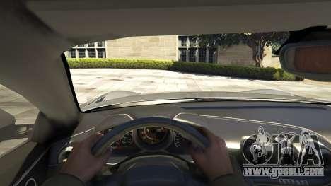 GTA 5 Ferrari F12 Berlinetta [LibertyWalk] v1.1 back view