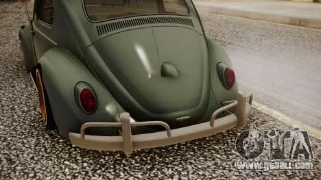 Volkswagen Beetle Aircooled for GTA San Andreas back view