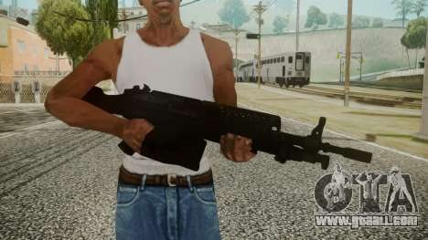 M249 Battlefield 3 for GTA San Andreas