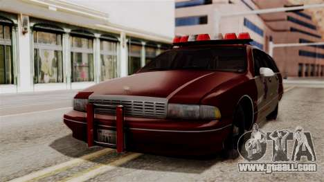 Chevy Caprice Station Wagon 1993- 1996 SAFD for GTA San Andreas