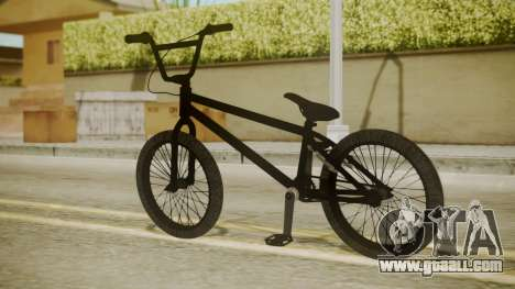 BMX Poland for GTA San Andreas left view