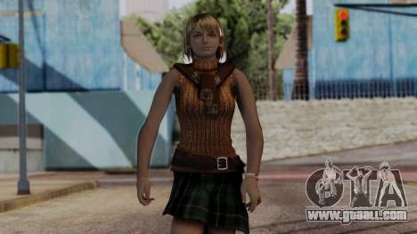 Resident Evil 4 Ultimate HD - Ashley Graham for GTA San Andreas