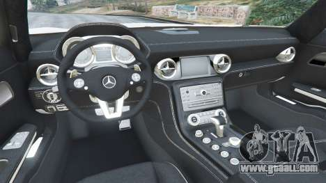 GTA 5 Mercedes-Benz SLS AMG Coupe right side view