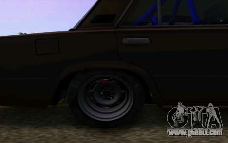 VAZ 2101 Car for GTA San Andreas back view