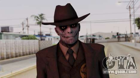 SkullFace Hat for GTA San Andreas