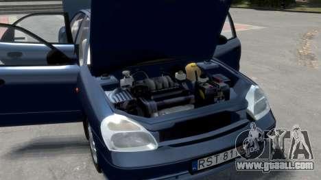 Daewoo Nubira II Sedan S PL 2000 for GTA 4 engine