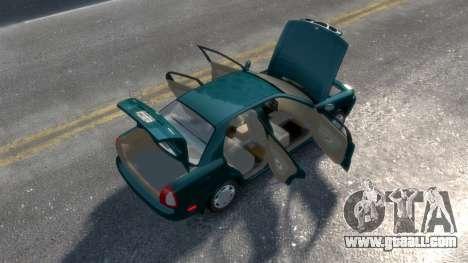 Daewoo Nubira I Sedan SX USA 1999 for GTA 4 side view