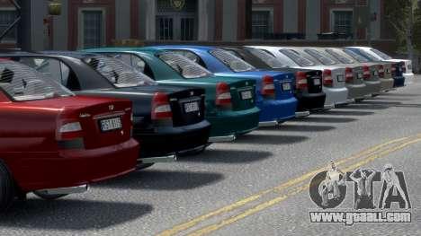 Daewoo Nubira II Sedan S PL 2000 for GTA 4 wheels