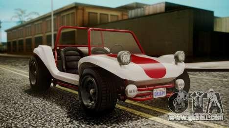GTA 5 BF Bifta IVF for GTA San Andreas