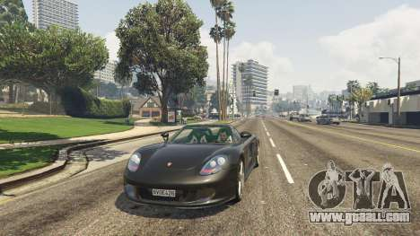 GTA 5 Porsche Carrera GT 1.2 rear right side view